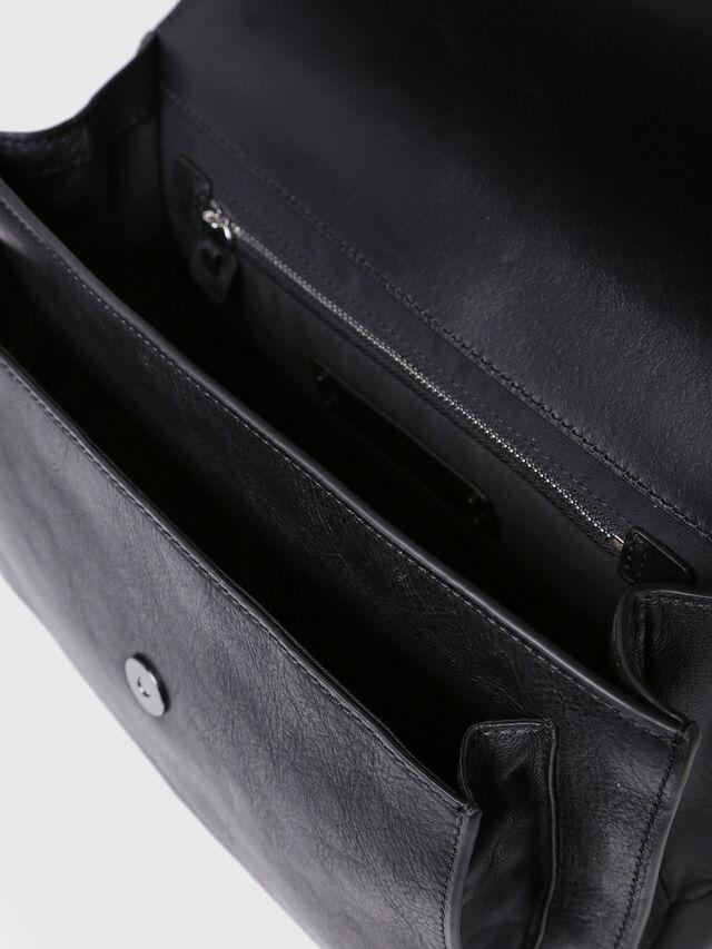 Diesel - MISS-MATCH CROSSBODY, Black Leather - Crossbody Bags - Image 3