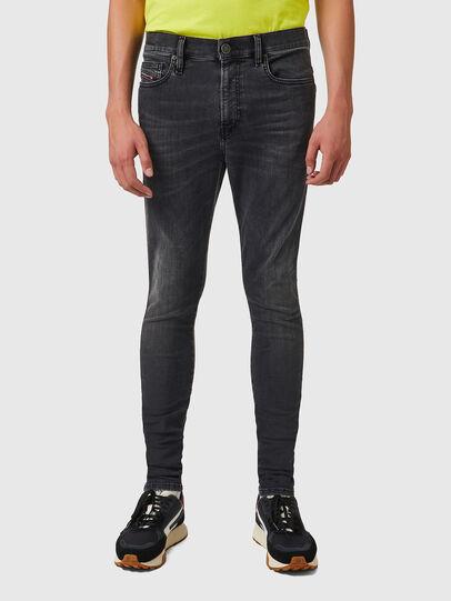 Diesel - D-Istort 069YC, Black/Dark grey - Jeans - Image 1