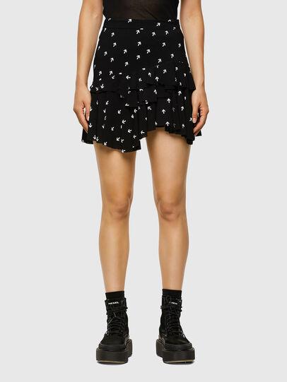 Diesel - O-KOEPY-A, Black - Skirts - Image 1