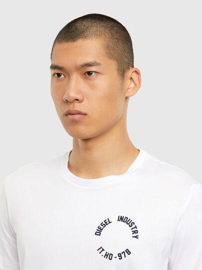 Diesel - T-DIEGOS-N26, White - T-Shirts - Image 3