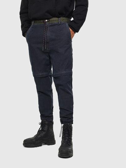 Diesel - D-Everi JoggJeans 009BI, Dark Blue - Jeans - Image 1