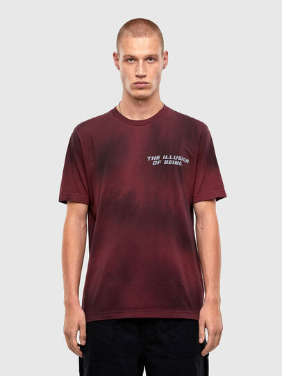 Diesel - T-JUST-N47, Brown - T-Shirts - Image 1