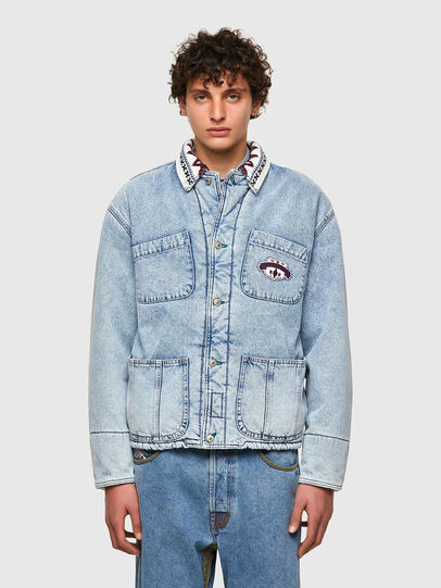 Diesel - DxD-J4, Light Blue - Denim Jackets - Image 2