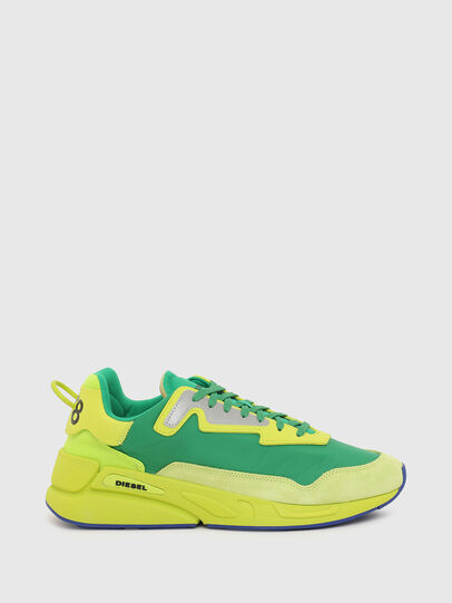 Diesel - S-SERENDIPITY LC, Yellow/Green - Sneakers - Image 1