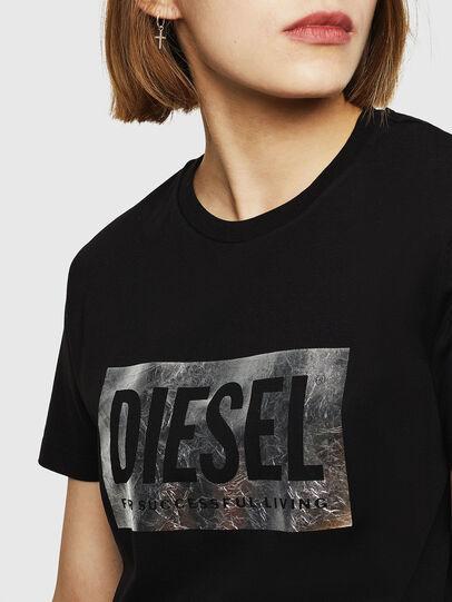 Diesel - T-FOIL, Black - T-Shirts - Image 5