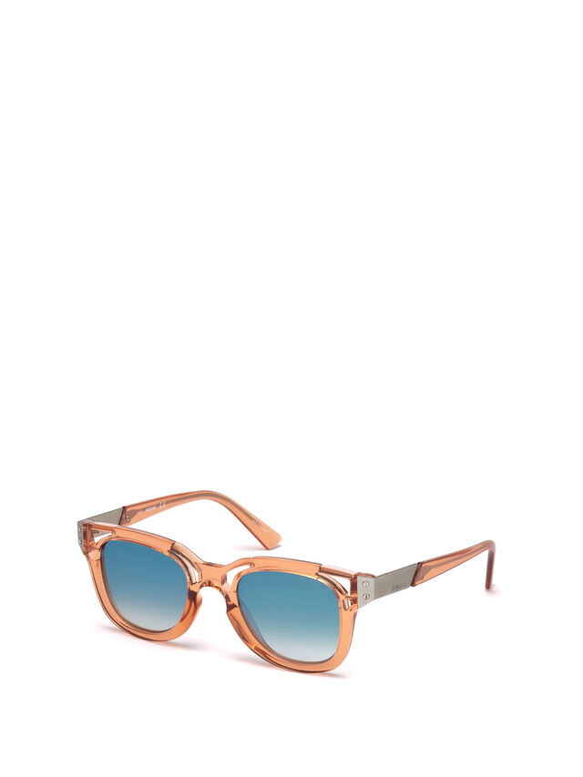 Diesel - DL0232, Peach - Sunglasses - Image 4