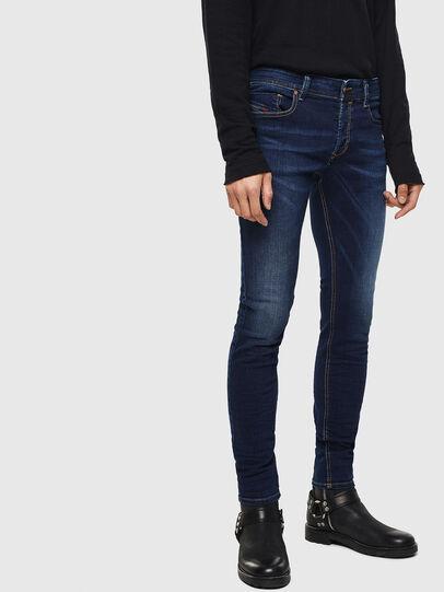 Diesel - Sleenker 084RI, Dark Blue - Jeans - Image 1