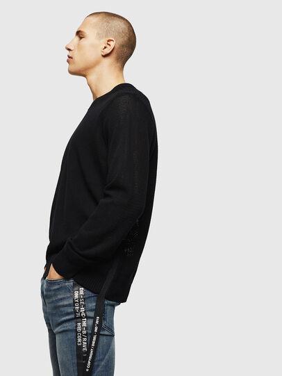 Diesel - K-RIO, Black - Knitwear - Image 4