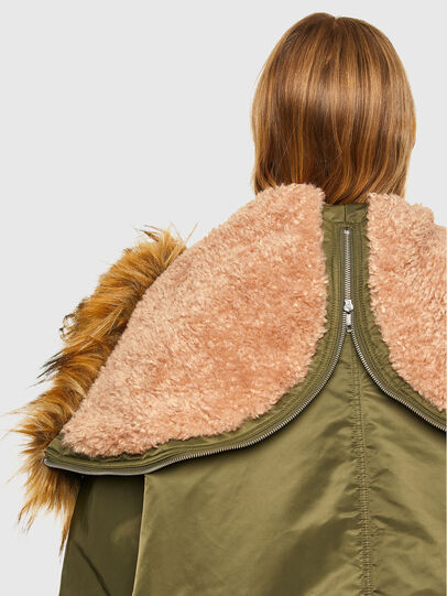 Diesel - W-FLORES, Military Green - Winter Jackets - Image 4