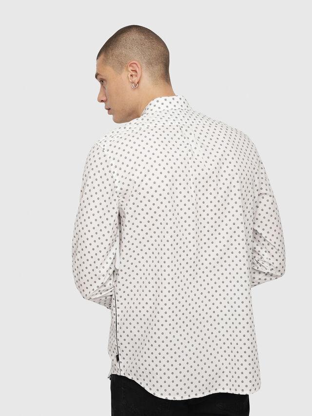 Diesel - S-JIROU, White/Black - Shirts - Image 2