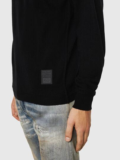 Diesel - K-LETO, Black - Knitwear - Image 4
