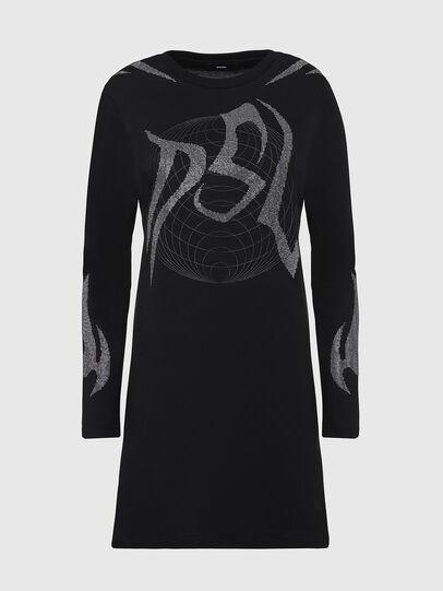 Diesel - T-ROSSINA, Black - T-Shirts - Image 1