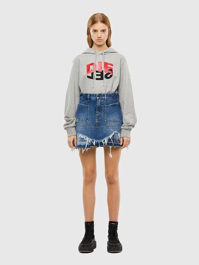Diesel - S-GIRK-HOOD-N1, Grey - Sweaters - Image 8