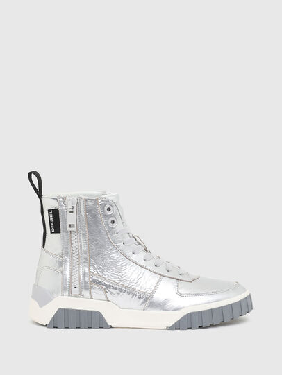 Diesel - S-RUA MC W, Silver - Sneakers - Image 1
