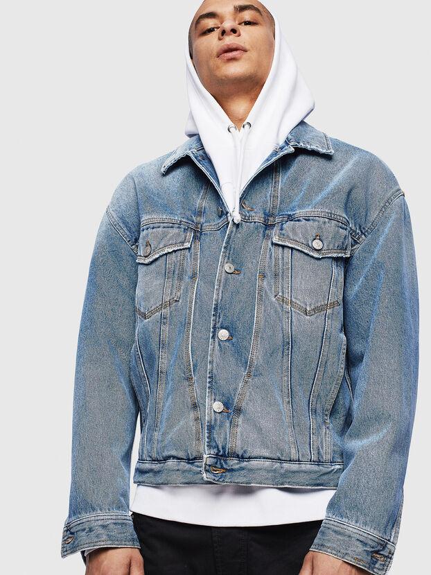 D-BRISTY, Light Blue - Denim Jackets