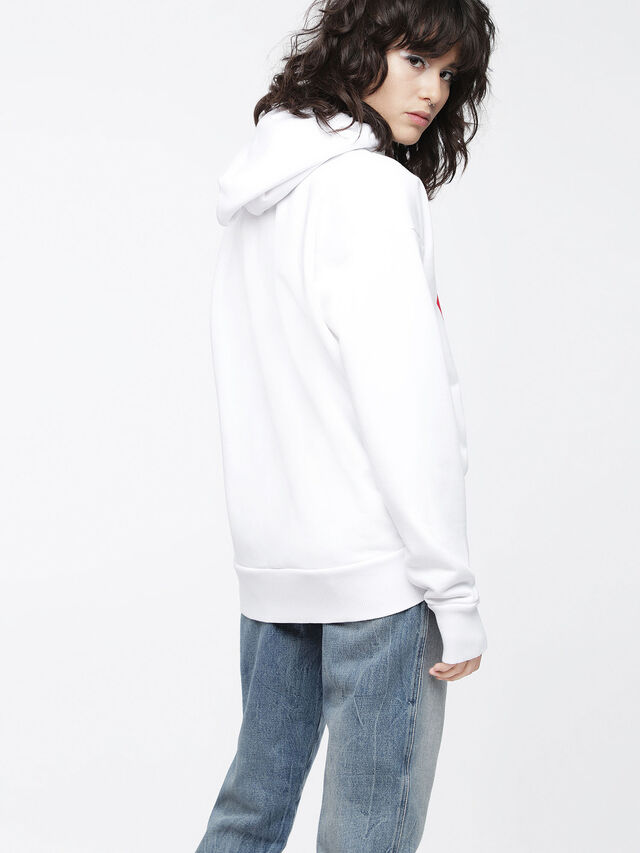 Diesel F-ALBY-FL-A, White - Sweaters - Image 2