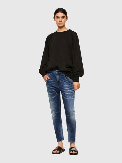 Diesel - Fayza JoggJeans® 0096M, Dark Blue - Jeans - Image 5