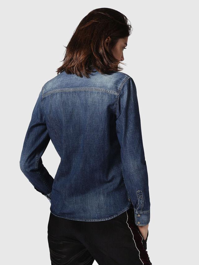 Diesel DE-KERI, Blue Jeans - Denim Shirts - Image 3