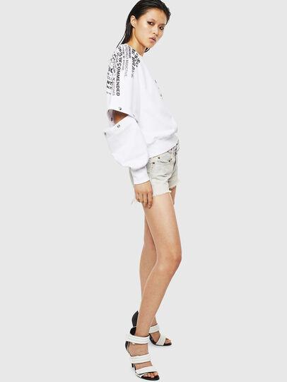 Diesel - F-AYALA, White - Sweaters - Image 5