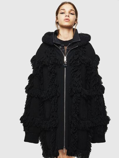Diesel - M-LYNE, Black - Winter Jackets - Image 1