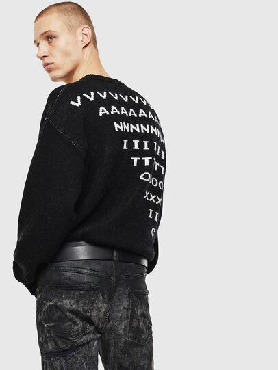 Diesel - K-MODER, Black - Knitwear - Image 3