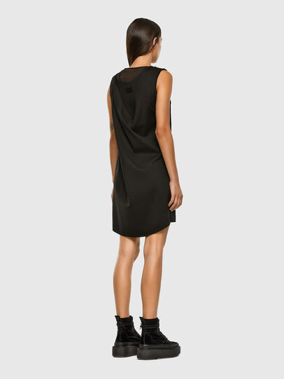 Diesel - D-PLEADY, Black - Dresses - Image 2