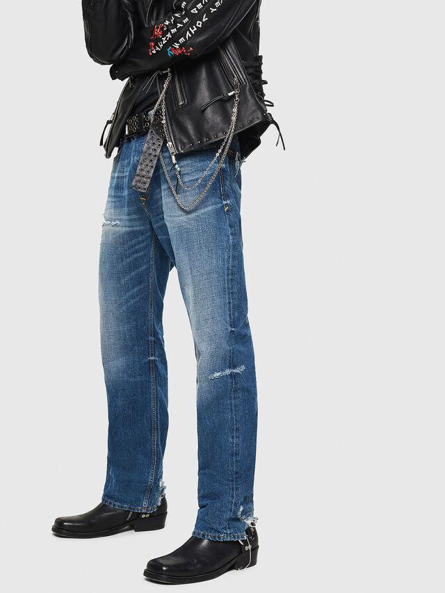Diesel - D-Kodeck 080AH, Medium blue - Jeans - Image 4