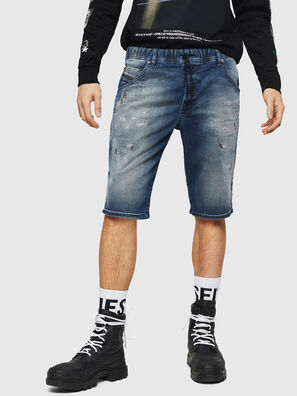 D-KROOSHORT JOGGJEANS, Medium blue - Shorts