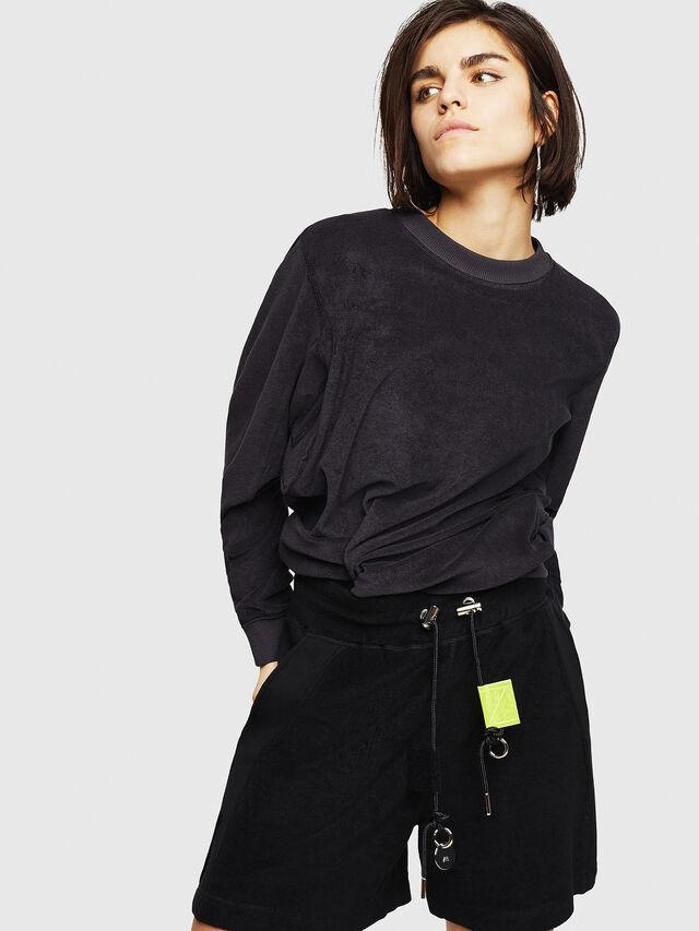 Diesel - F-LYANY-A, Black - Sweaters - Image 1