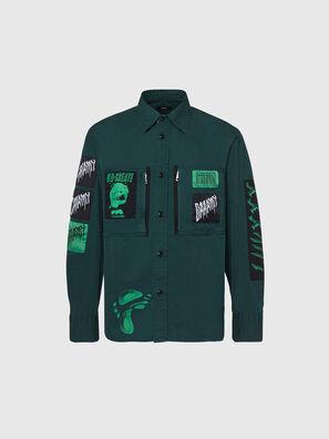 S-MARCUS, Dark Green - Shirts