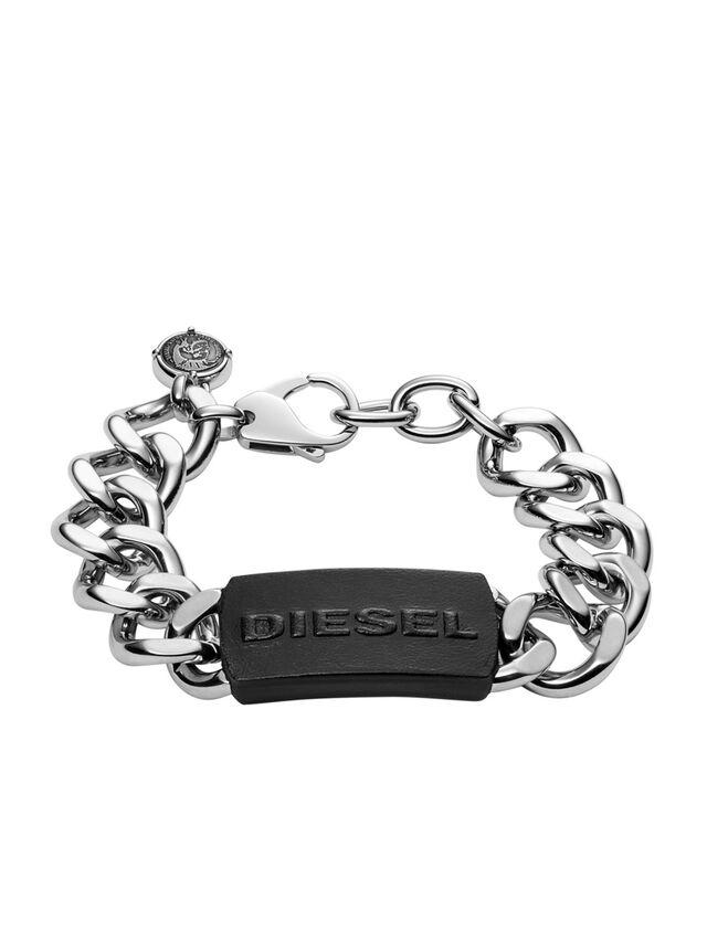 Diesel - BRACELET DX1010, Silver - Bracelets - Image 1