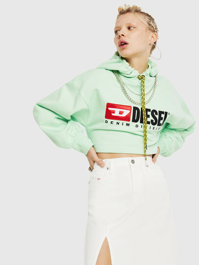 Diesel - F-DINIE-A, Green Fluo - Sweaters - Image 4