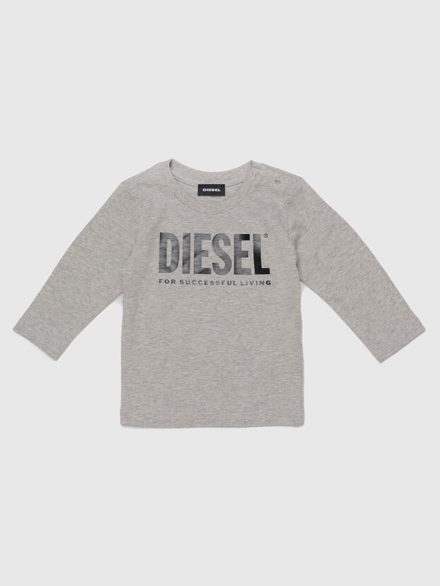 TJUSTLOGOB ML, Grey - T-shirts and Tops