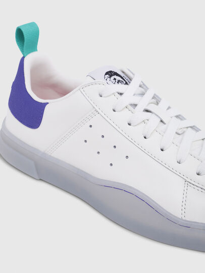Diesel - S-CLEVER LOW W, Bright White - Sneakers - Image 4