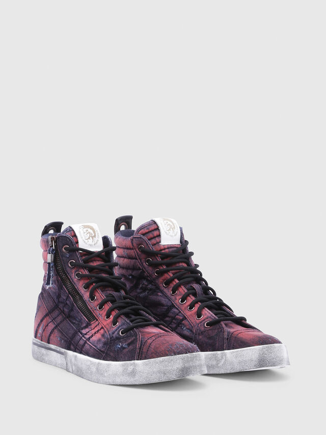 Diesel - D-VELOWS MID LACE, Blue/Red - Sneakers - Image 2