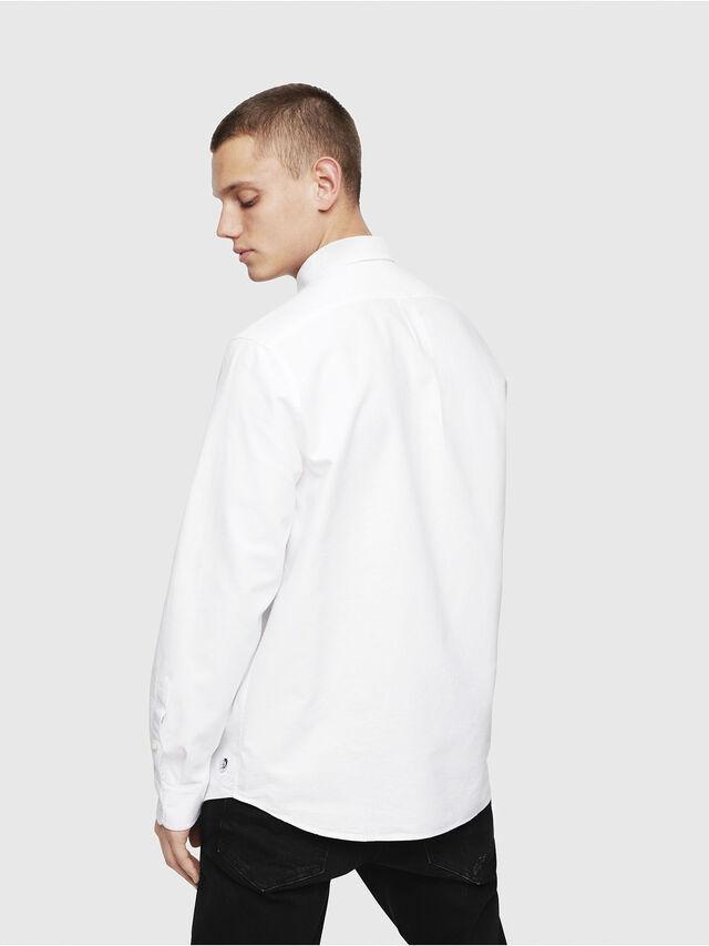 Diesel - S-MOI-R, White - Shirts - Image 2