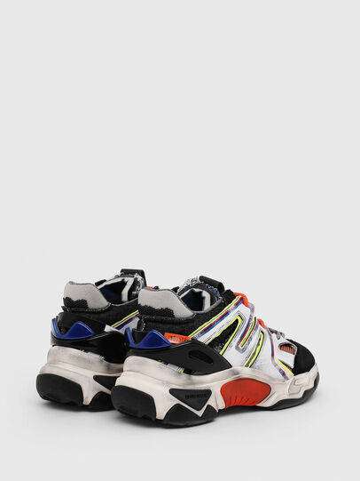Diesel - S-KIPPER SK, White/Black - Sneakers - Image 3