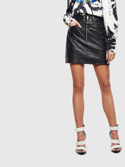 Diesel - L-ZACHERY, Black - Skirts - Image 1