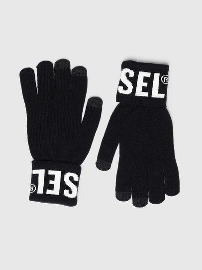 Diesel - K-SCREEX-B, Black - Gloves - Image 1