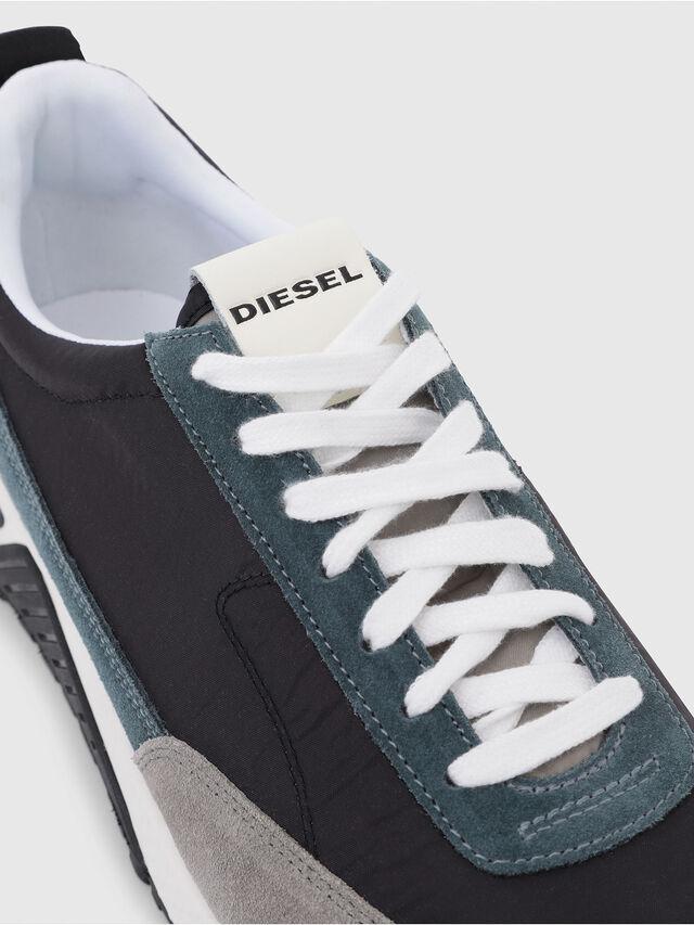 Diesel - S-KB LOW LACE, Grey/Blue - Sneakers - Image 5