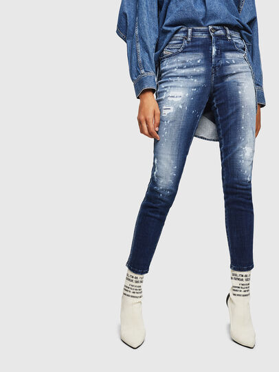 Diesel - Babhila 0091Y, Medium blue - Jeans - Image 1
