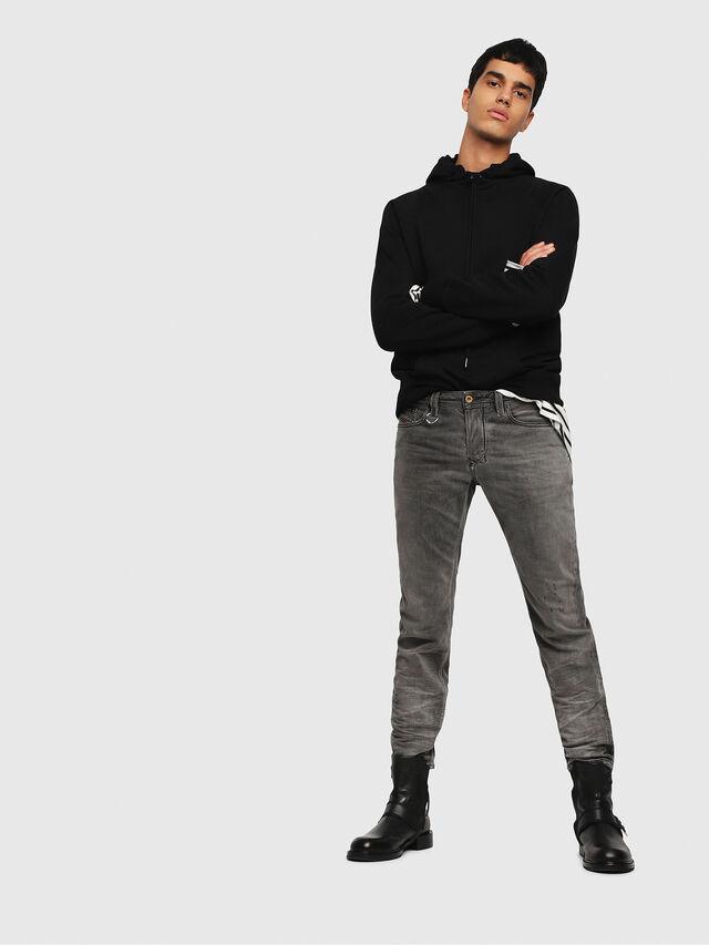 Diesel - Larkee-Beex 088AF, Black/Dark grey - Jeans - Image 4