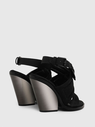 Diesel - SA-FLAMINGO XR, Black - Sandals - Image 3