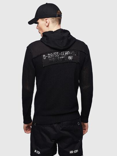 Diesel - K-CONNET, Black - Knitwear - Image 2