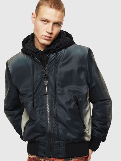 Diesel - J-FOREST, Black - Jackets - Image 1