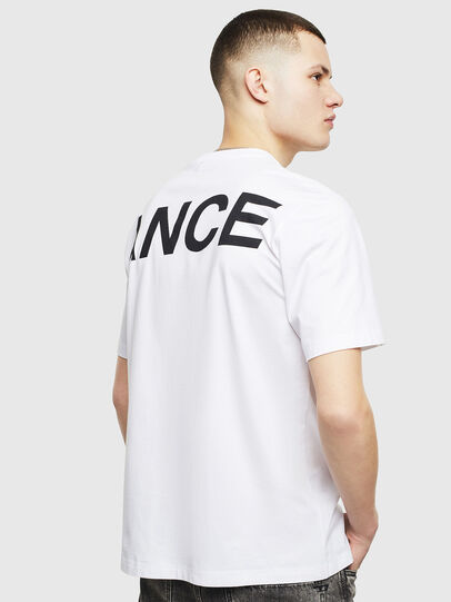 Diesel - T-JUST-T21, White - T-Shirts - Image 3