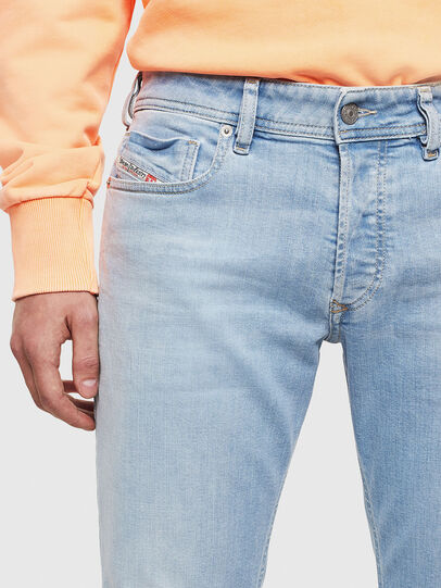 Diesel - Sleenker 009BJ, Light Blue - Jeans - Image 3
