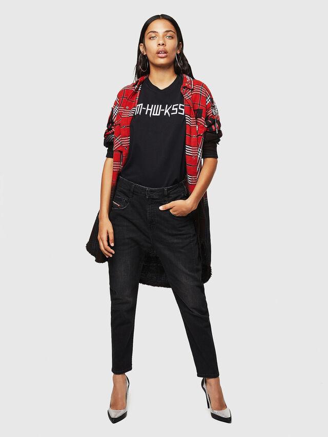 Diesel - Fayza 069BG, Black/Dark grey - Jeans - Image 5