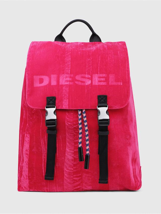 Diesel - F-MUSILE BACKPACK, Pink Fluo - Backpacks - Image 1