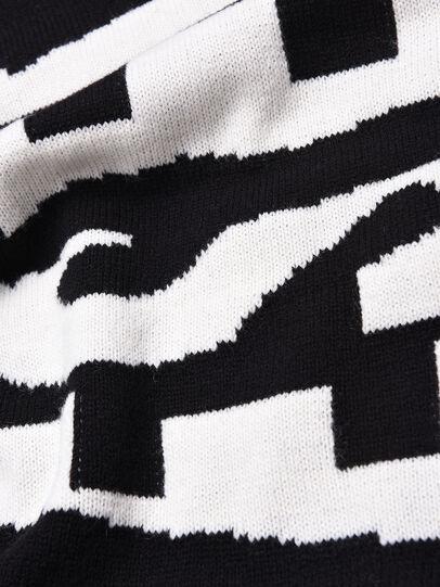 Diesel - DLOGOXA, Black/White - Dresses - Image 3